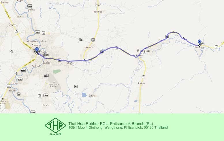 Phitsanulok Thailand Map.Phitsanulok Branch Pl Thaihua